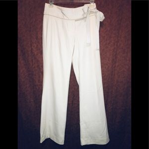 Banana Republic winter white Martin fit slacks